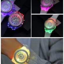 LED Strass Armbanduhr