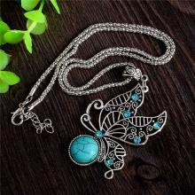 Antik Silber Halskette *Butterfly*