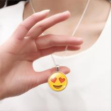 Emoji-Smiley Schmuck-Set