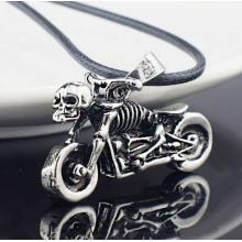 Biker-Kette Skeleton Motorrad