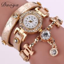 Edelstein Quarz Armbanduhren in verschiedenen Designs