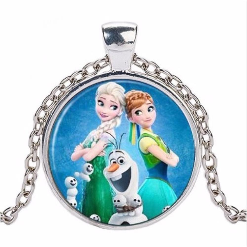 Halskette.Modeschmuck,Elsa Anna,Olaf Eiskönigin
