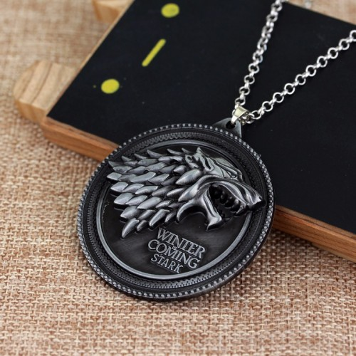 Thrones 3d Of Game Medallion Halskette N8XwOn0Pk