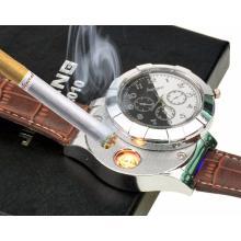 Analog Armband-Uhr mit USB *Sturmfeuerzeug*