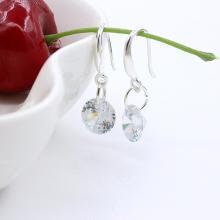 Kristall Wassertropfen Ohrringe
