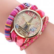 Geflochtene Paris Armbanduhr