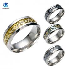 Stilvolle Dragon Wolfram Ringe